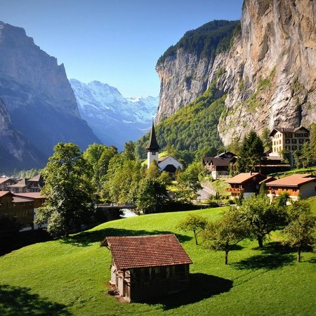 Photo of Berner Oberland Switzerland