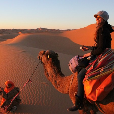 Photo of Sunset - Sahara Desert