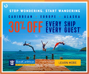 Royal Caribbean International®  30% off Every Ship - Every Guest