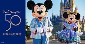 Walt Disney World 50th Anniversary Celebration