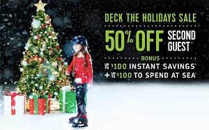 Royal Caribbean International® Deck the Holidays SALE!