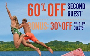 Royal Caribbean International®  60% Off Second Guest + Bonus 30% of 3rd and 4th Guests