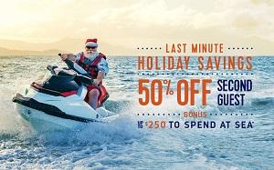 Last Minute Holiday Savings! Royal Caribbean International Deck the Holidays Deals