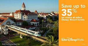 Walt Disney World® Resort - Save up to 35%