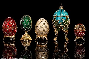 Faberge: Royal Gifts featuring the Trellis Egg Surprise - Houston Museum of Natural Science