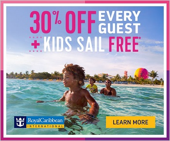Royal Caribbean International - Cruise with Confidence! 30% off Every Guest + Kids Sail Free